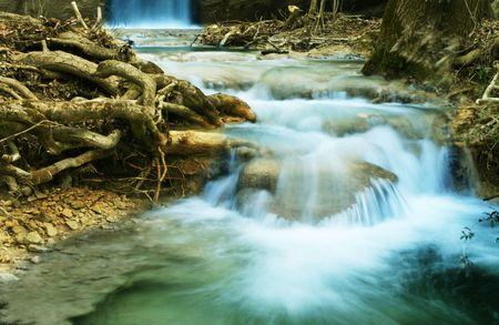 Waterfall movement