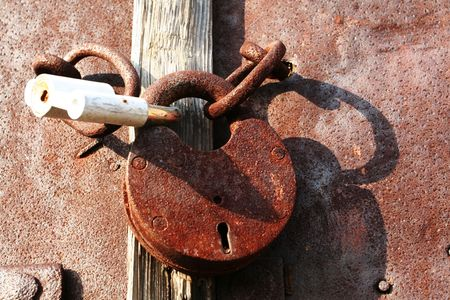 Old lock Stock Photo - 2709211