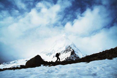shivling: Shivling peak