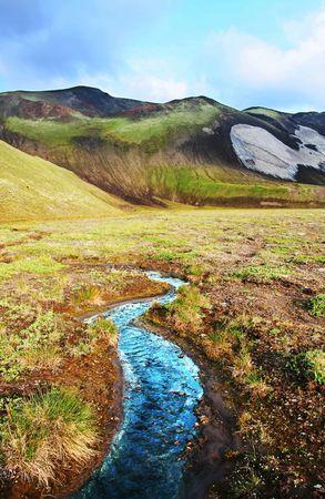 Mountains landscape on Kamchatka photo
