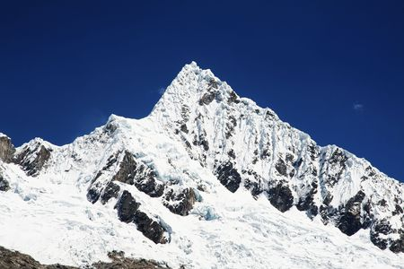alpamayo: Beautiful peak Alpamayo