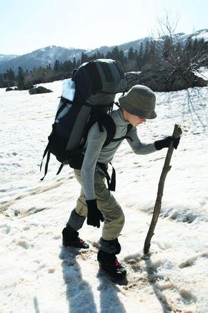 Backpacker photo