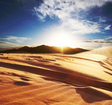 sahara desert: Sahara desert Stock Photo