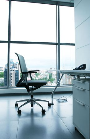 Chair in office Imagens