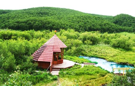 kamchatka: Spa in primavera calda su Kamchatka