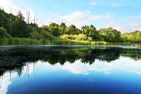 Lakes scene Stock Photo - 3294487