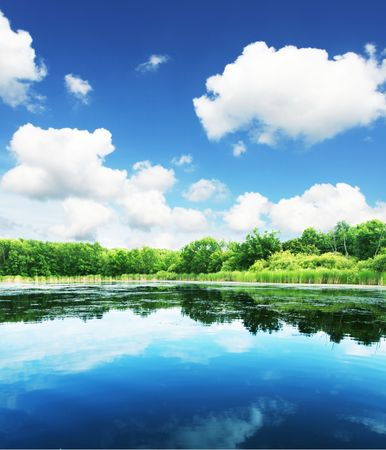 Summer lake Stock Photo - 3332298
