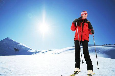 entertaiment: Skier girl