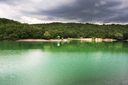 Summer lake Stock Photo - 3387800
