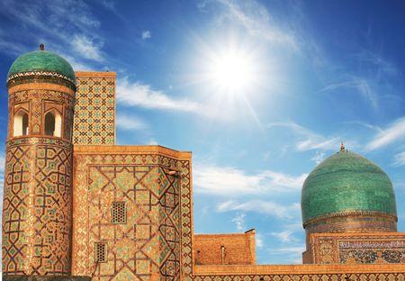 uzbekistan: Palace in Bukhara Stock Photo