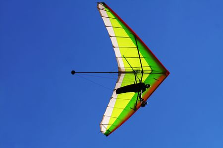 Hang glider Stock Photo - 3771455