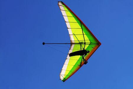 Hang glider Stock Photo - 3771455