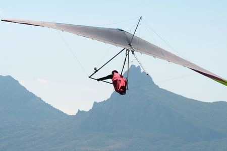 take action: Hang-glider