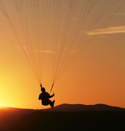 Paraglider photo