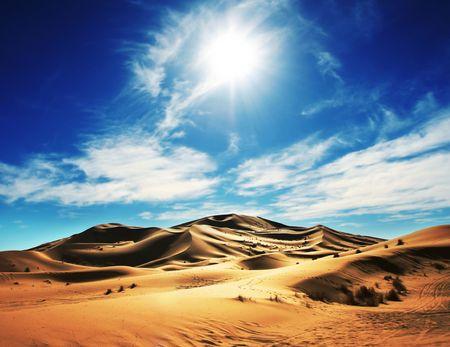 desierto del sahara: Desierto de Sahara