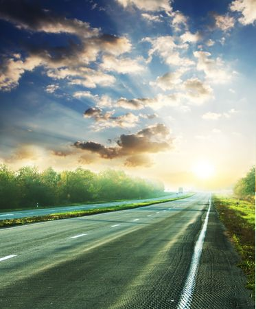 Road in mountains Stock Photo - 3807408