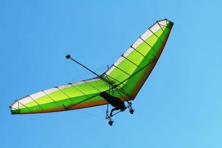 gliding: Hang glider