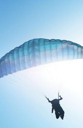 Paragliding Stock Photo - 3822724