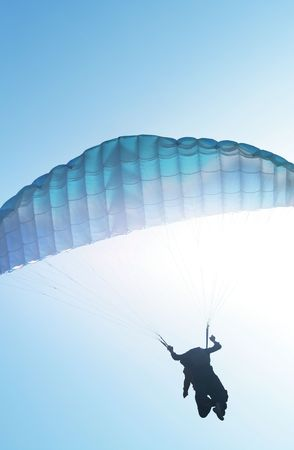 Paragliding Stock Photo - 3822724