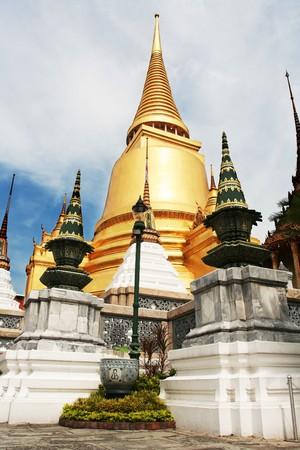 Gold palace in Bangkok photo