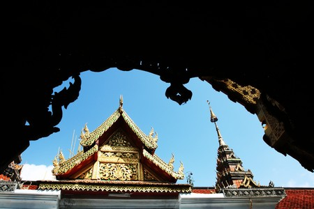far eastern: Temple in Thailand