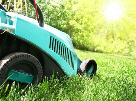 Cortadora de pasto Foto de archivo - 4226984