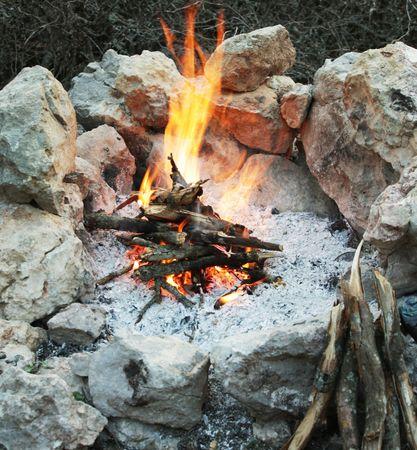 campfire Фото со стока