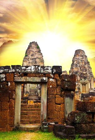 Angkor ruins Stock Photo - 4661424