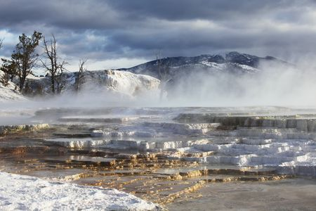 mammoth: Mammoth Hot spring