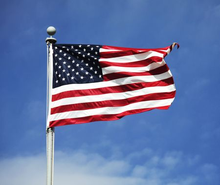 american flag Stock Photo - 4991033