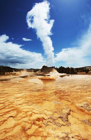 geyser Castle photo