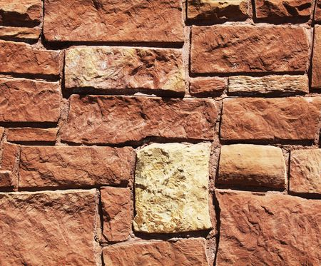 rockwall: Ancient pattern Stock Photo