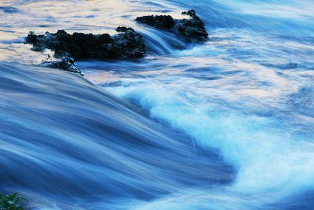Water cascade Фото со стока