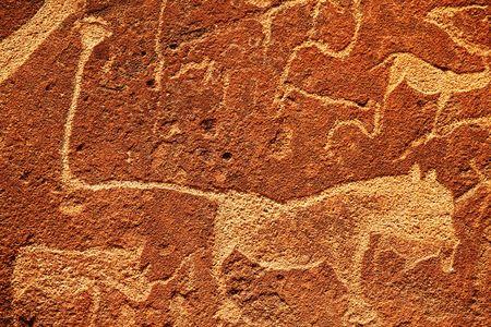 hieroglyph texture photo