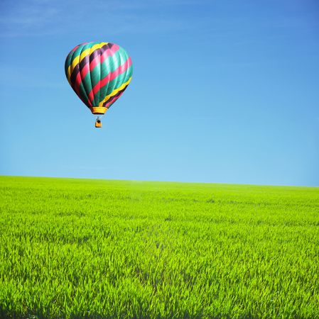 traveling: air ballon