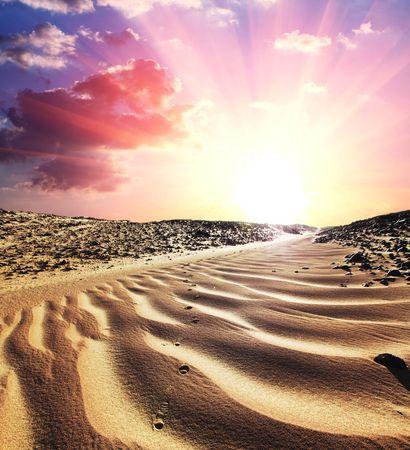 hummock: Desert Stock Photo