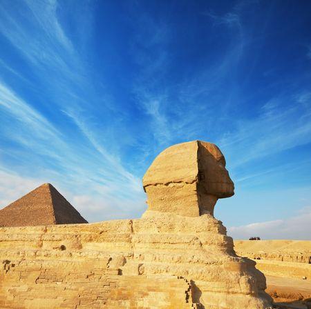 Egyptian sphinx photo