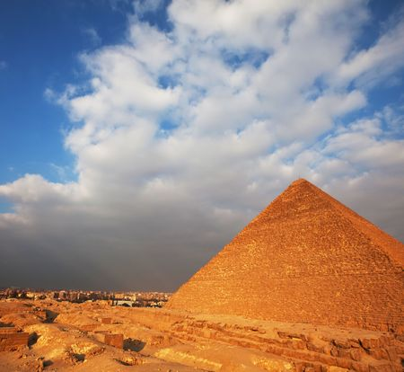 Egyptian pyramid photo
