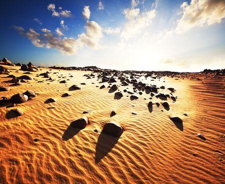 pustynia: Piasek pustyni Zdjęcie Seryjne