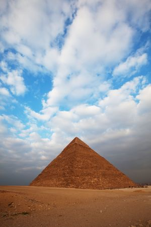 Egyptian pyramid Stock Photo - 6562276