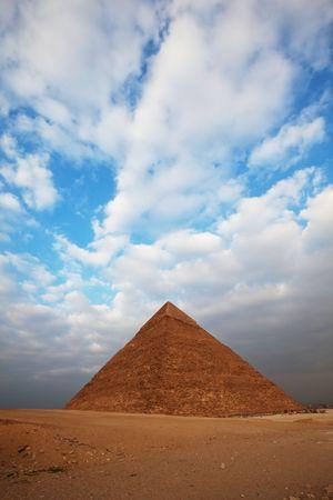 Egyptian pyramid Stock Photo - 6562276