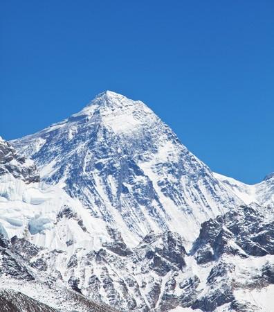 the peak: mount peak Everest