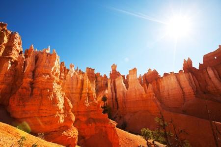 slot canyons: Bryce Canyon Stock Photo
