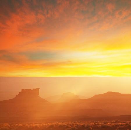 Grand canyon at dusk Stock Photo - 7277832