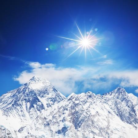 mount everest: mount peak Everest