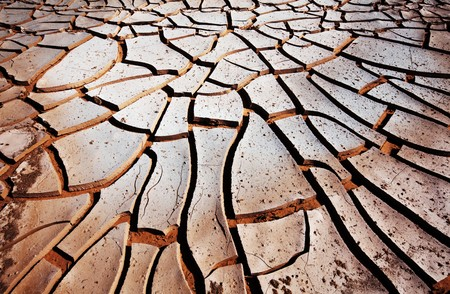 barrenness: Drought land Stock Photo