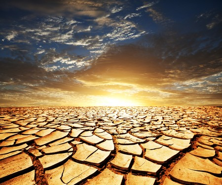 barren land: Drought land Stock Photo