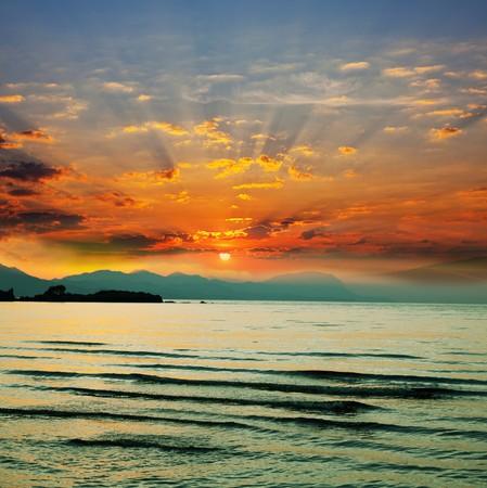 ocean at dawn Stock Photo - 8226699