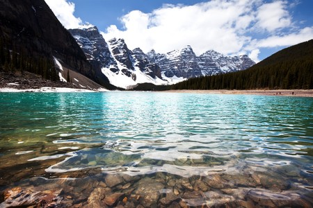 banff national park: lake in Canada Stock Photo