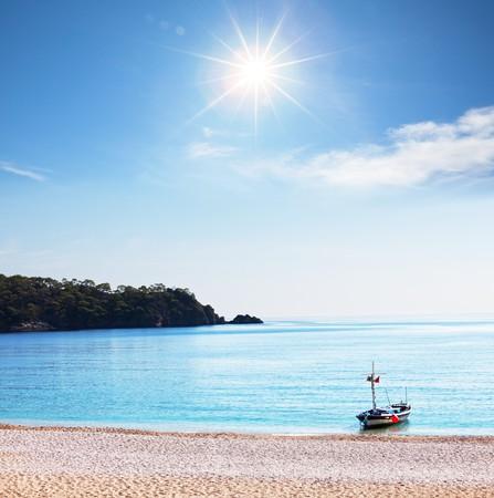 Sea in Turkey photo